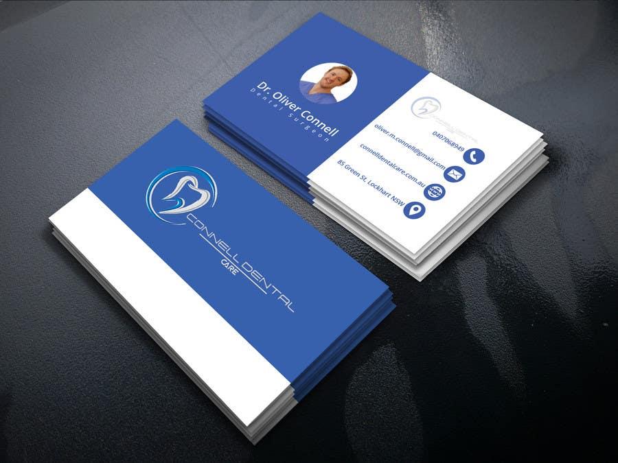 Entry #304 by royhance for Design Dental Business Cards | Freelancer
