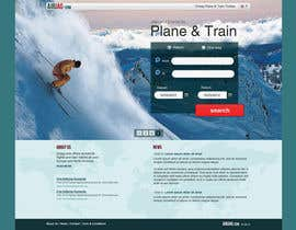 #11 for Website Design for International travelplanner: www.airjag.com by Huntresss