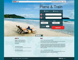 #57 for Website Design for International travelplanner: www.airjag.com by Huntresss