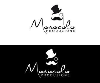 #15 for Design a logo - person with a MONOCLE - minimalistic, high-end by Diva01