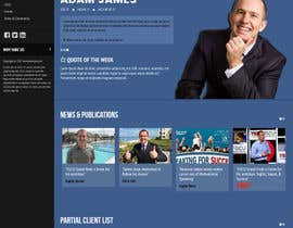 #15 for Design an exciting website for a motivational speaker by maxmediapixels