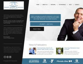 #7 for Design an exciting website for a motivational speaker by bestwebthemes