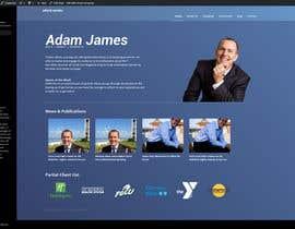 #12 for Design an exciting website for a motivational speaker by gireeshvfx