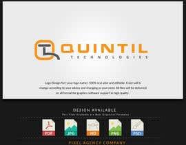 nº 43 pour Quintil Technologies Logo Desigin par PixelAgency