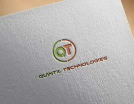 nº 49 pour Quintil Technologies Logo Desigin par AleeStudio