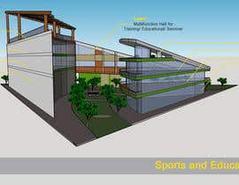 nº 18 pour Sports and Educational Centre -  3D Building par bluegreysky