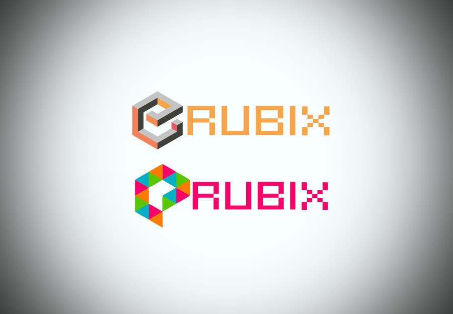 Proposition n°82 du concours eRubix logo and background picture