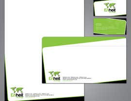 #36 untuk Letterhead, business card and envelop package design for Enheit oleh csharpdotnettech