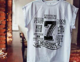 #34 for Design 7 Mindsets T-Shirt by nitabe