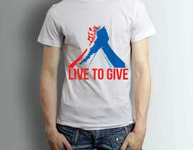 nº 27 pour Design Live to Give T-Shirt par tiagorsantanas