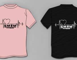 nº 46 pour Simple T-Shirt Design heart cam barbell with kettlebell par yasminjahan11