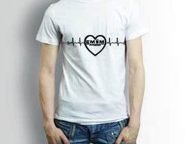 nº 6 pour Simple T-Shirt Design heart cam barbell with kettlebell par somirdn