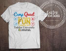 nº 18 pour Todd U Summer Camp T-Shirt par castroralph17