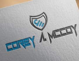 nº 34 pour Corey A McCoy Logo par MamunsDesign