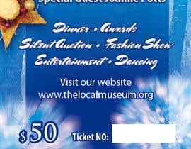 #3 para Print & Packaging Design for Full color, eye catching poster & event ticket for a HOLIDAY GALA por susurs1201