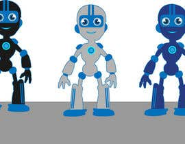 #3 for Illustrate a Robot Character in 4 Different Positions by Taravsmemo