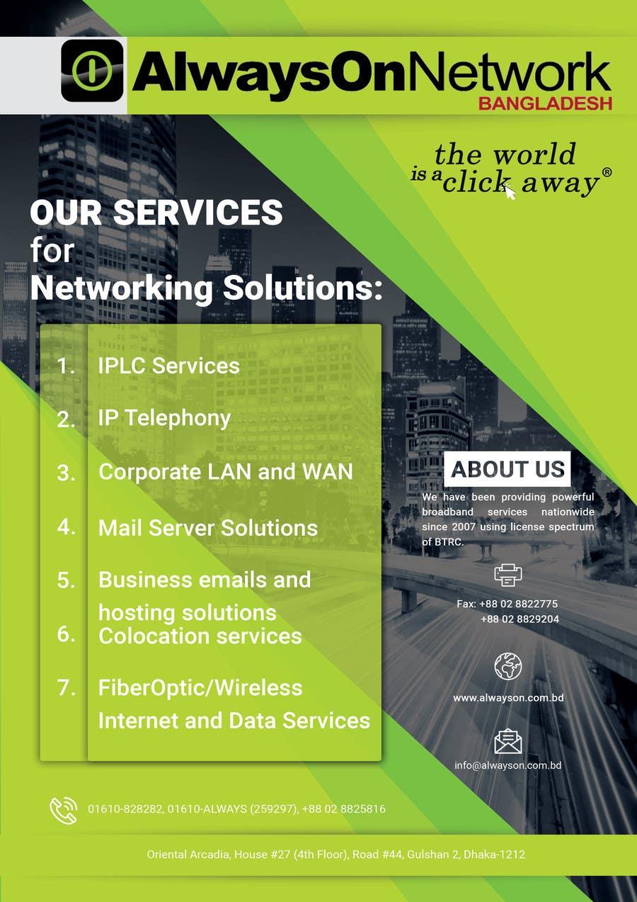 Proposition n°34 du concours Design a Flyer on our services
