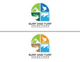 Nro 381 kilpailuun Logo for surfandturfadventures.org käyttäjältä senimanmelayu