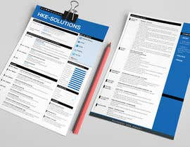 nº 15 pour i need some design for my resume par resumedesigner