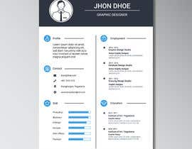 nº 4 pour i need some design for my resume par Abdullah2222