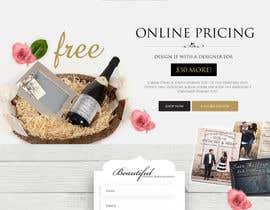 Nro 4 kilpailuun Design a Website Mockup käyttäjältä webmastersud
