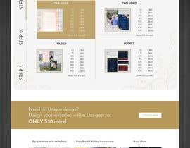 Nro 10 kilpailuun Design a Website Mockup käyttäjältä kevalthacker
