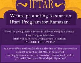 #37 for Ihsaas Trust Ramazan Iftari Program by mdmahinshek9