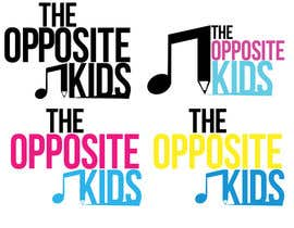 #14 para Logo Design for The Opposite Kids por BMcCanna