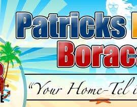 chaselibrado tarafından Design a Banner for Patrick's Home Boracay için no 7