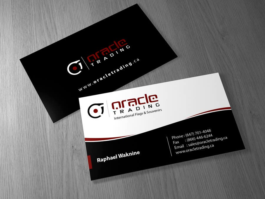Entry 62 by brandwar for business card letterhead design for contest entry 62 for business card letterhead design for oracle trading inc colourmoves