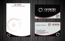 Business Card + Letterhead Design for ORACLE TRADING INC. için Graphic Design42 No.lu Yarışma Girdisi