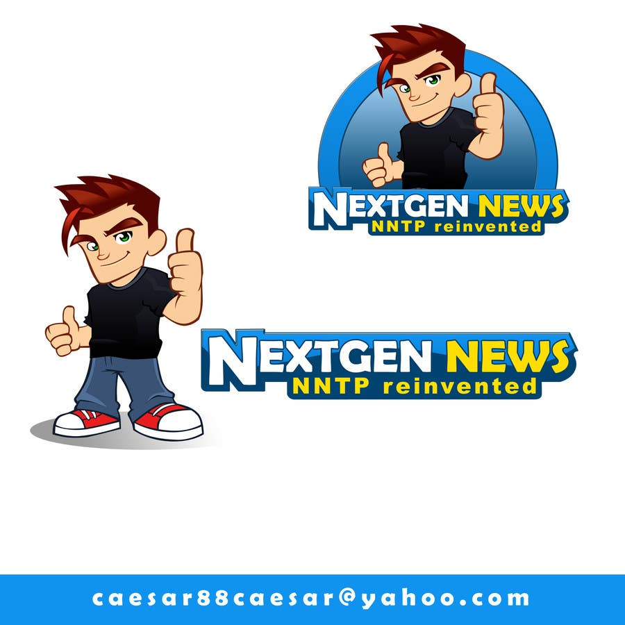 Konkurrenceindlæg #                                        75                                      for                                         Logo Design for NextGenNews