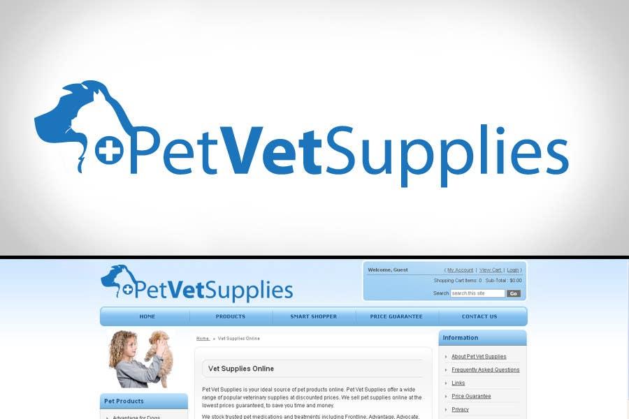 Inscrição nº 66 do Concurso para Logo Design for Pet Vet Supplies