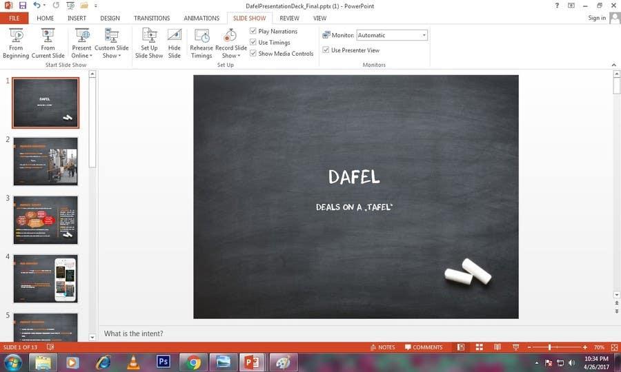 Proposition n°5 du concours Design a Powerpoint template