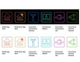 #3 untuk Design some Icons for Technology products oleh EstudioPonzonia