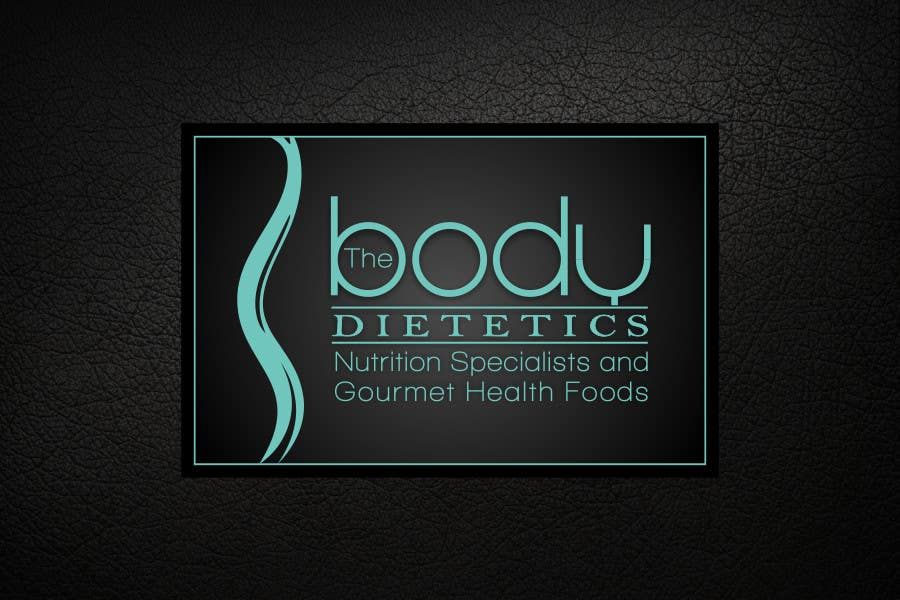 Contest Entry #73 for Logo Design for The Body Dietetics; health food and nutrition advice.