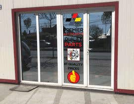 #10 for Design an Autoparts store front entrance windows graphics by sujon0787