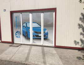 #4 for Design an Autoparts store front entrance windows graphics by nkcaleb