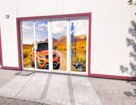 #8 for Design an Autoparts store front entrance windows graphics by uniquedesigner25