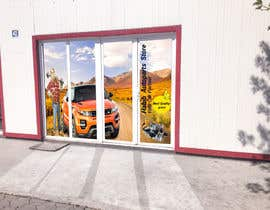 #9 for Design an Autoparts store front entrance windows graphics by uniquedesigner25