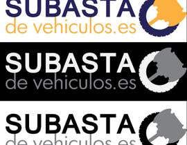 nº 35 pour Diseñar un logotipo  (name is/nombre:  Subasta de vehiculos.es) par johanopoly
