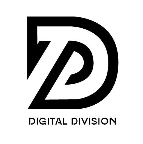 """Kilpailutyö #                                        1                                      kilpailussa                                         I need a logo for a production company called """"Digital Division""""  Subheading: """"For Events that need digital support"""""""