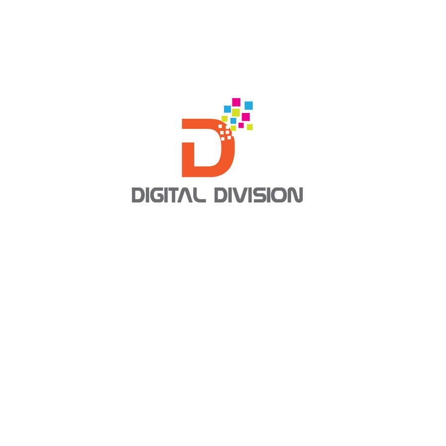 """Kilpailutyö #                                        5                                      kilpailussa                                         I need a logo for a production company called """"Digital Division""""  Subheading: """"For Events that need digital support"""""""