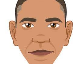 tihmoller tarafından Vector Barack Obama Head! için no 128