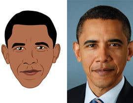 Lovelas tarafından Vector Barack Obama Head! için no 139