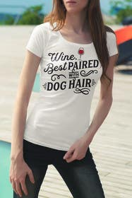 #44 for Design a Woman's T-Shirt for the dog lover by mariusadrianrusu