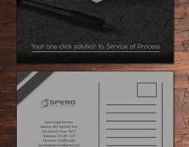nº 12 pour Black and White Post Card Design par veibone