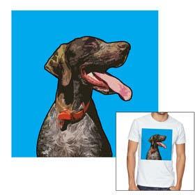 #118 for Photo to POP ART Dog Portrait by Ljaaay
