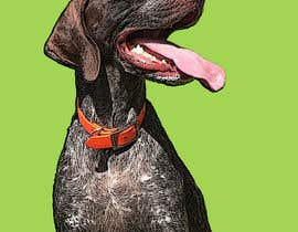 #72 for Photo to POP ART Dog Portrait by Redlinen