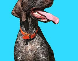 #73 for Photo to POP ART Dog Portrait by Redlinen